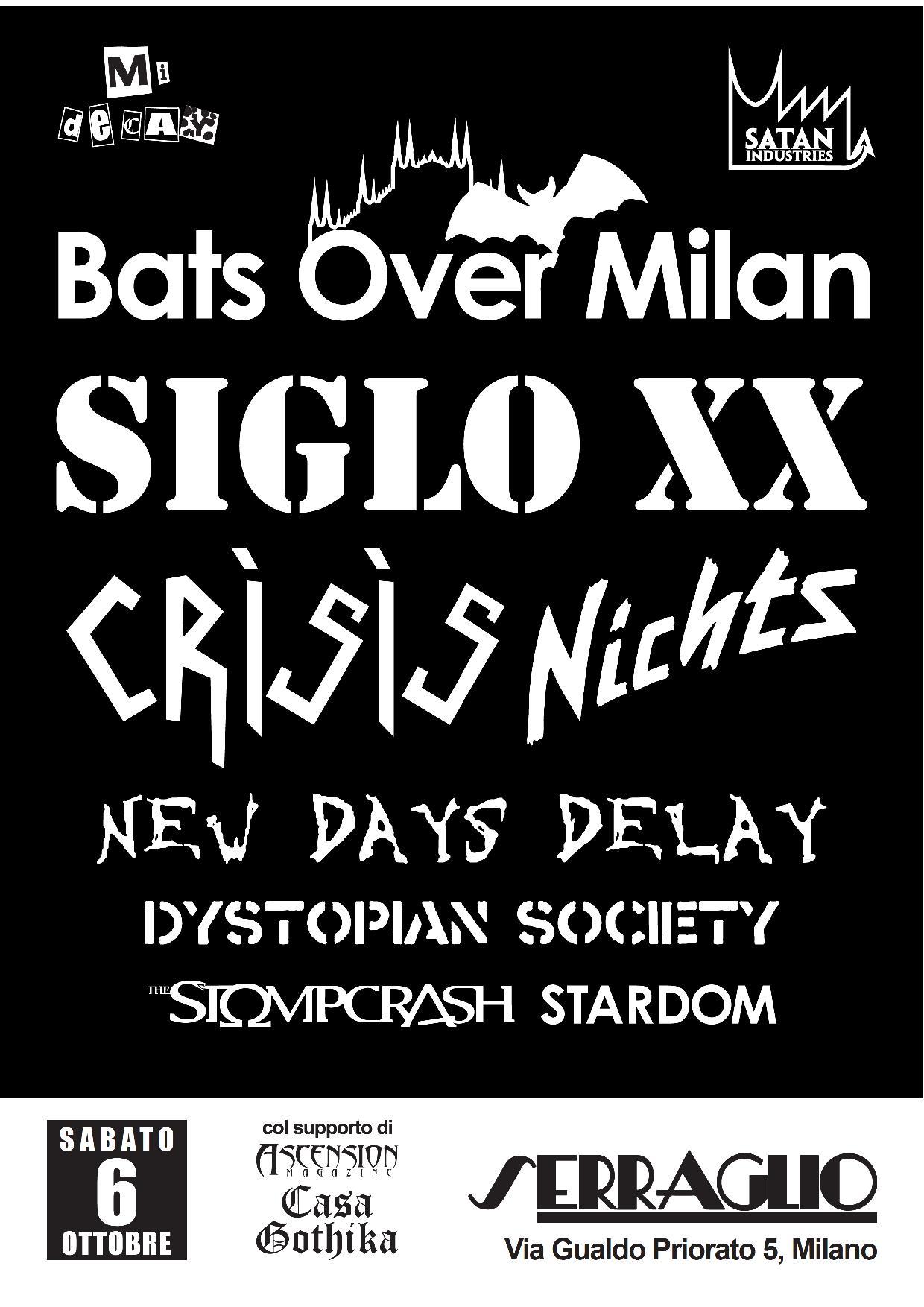 BATS OVER MILAN FESTIVAL